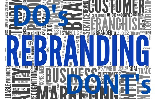 What not to do when you Re-Brand? (Re-branding)