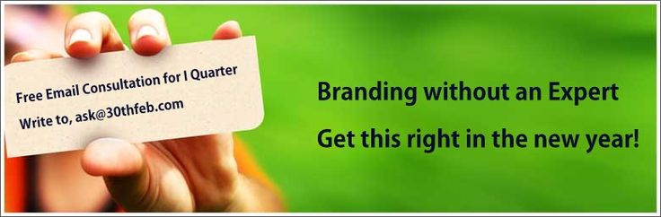 Get a Brand Consulting Firm, to Get it right!