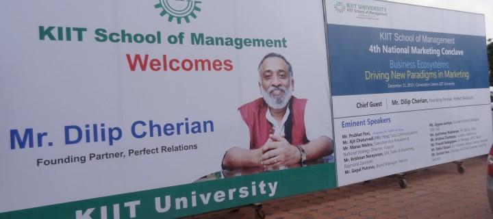 National Marketing Conclave at KSOM, Bhubneshwar