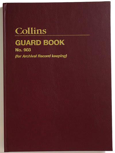 Historic Guard Book Sample