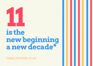 11 Powerful Lessons, 11 Thankful Years of Entrepreneurship